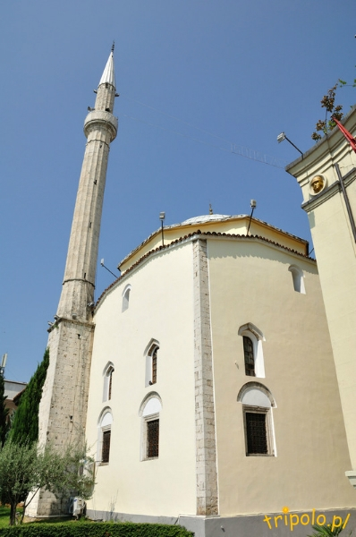 Albania, Tirana - meczet Etehem Bey z XVIII wieku
