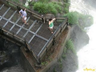 Argentyna, Wodospady Iguazu - punkt widokowy nad wodospadami