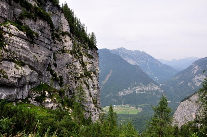 Alpy Salzburskie w okolicy Hallstatt