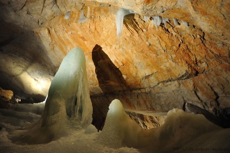 Alpy Salzburskie w okolicy Hallstatt - Jaskinia Lodowa