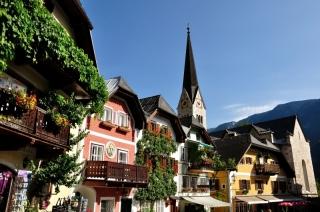 Austria, Hallstatt - rynek