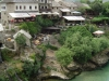 Mostar - stare miasto i rzeka Neretwa