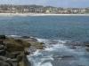 Trasa nad oceanem z plaży Coogee na plażę Bondi