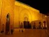 Dziedziniec przed Meczetem Hasana II w Casablance