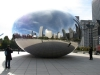 Cloud Gate w Chicago, USA