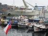 Chile, Valparaiso - port