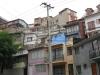 Chile, Valparaiso - widok na zabudowania na wzgórzach