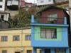 Chile, Valparaiso - zabudowania na wzgórzach