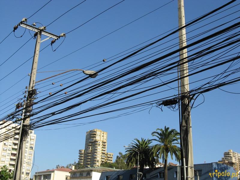 Vina del Mar - jedna z głównych ulic miasta