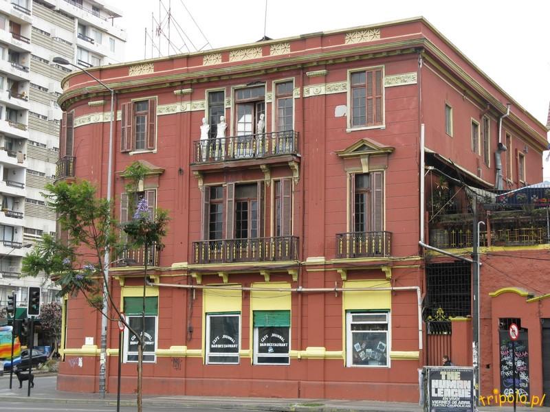 Vina del Mar - dom literatów i dziennikarzy