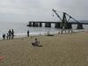 Piaszczysta plaża w Vina del Mar, Chile