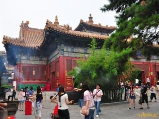 Pekin - Świątynia Lamy