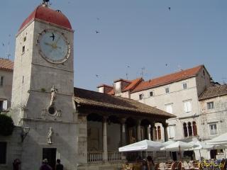 Wieża z zegarem w Trogirze