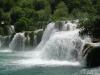 Jedna z kaskad wodospadów Krka