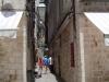 Dubrownik - wąska uliczka w centrum miasta
