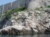 Dubrownik, Chorwacja - widok na mury miejskie