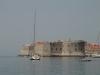 Widoki  z wycieczki statkiem dookoła murów Dubrownika