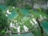 Widok na Jeziora Plitwickie z góry