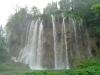 Jeden z wodospadów na terenie Jezior Plitwickich
