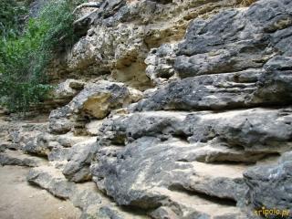 Czeska Szwajcaria - ciekawe formacje skalne po drodze do Bramy Pravčickiej