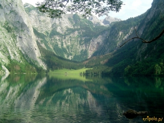 Niemcy, Bawaria - jezioro Obersee