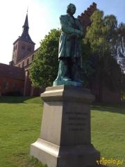 Dania, Odense - jeden z pomników Hansa Christiana Andersena