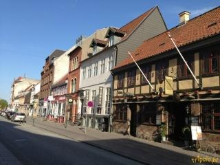 Dania, Odense - uliczki starego miasta