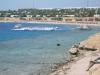 Egipt, Sharm el Sheik - wybrzeże z pomostem wychodzącym w morze