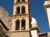 Wieża kościoła na terenie klasztoru św. Katarzyny na Synaju w Egipcie