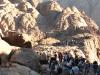 Widoki podczas schodzenia z Góry Synaj
