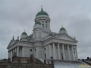 Helsinki-centrum miasta zimą