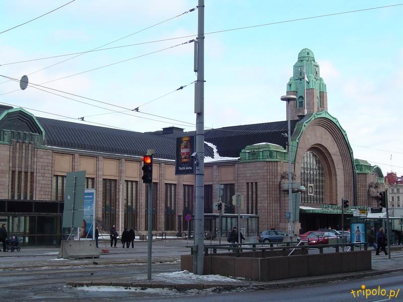 Helsinki - centrum miasta - dworzec kolejowy