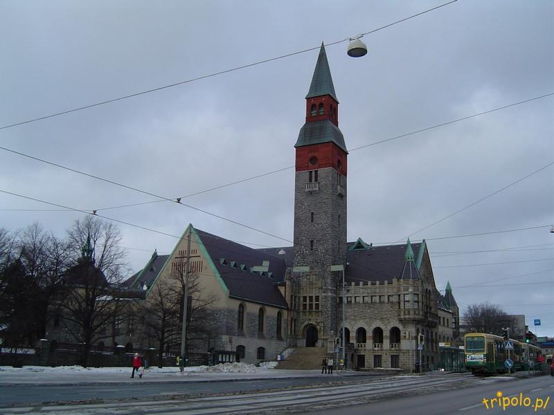 Helsinki - centrum miasta - muzeum narodowe