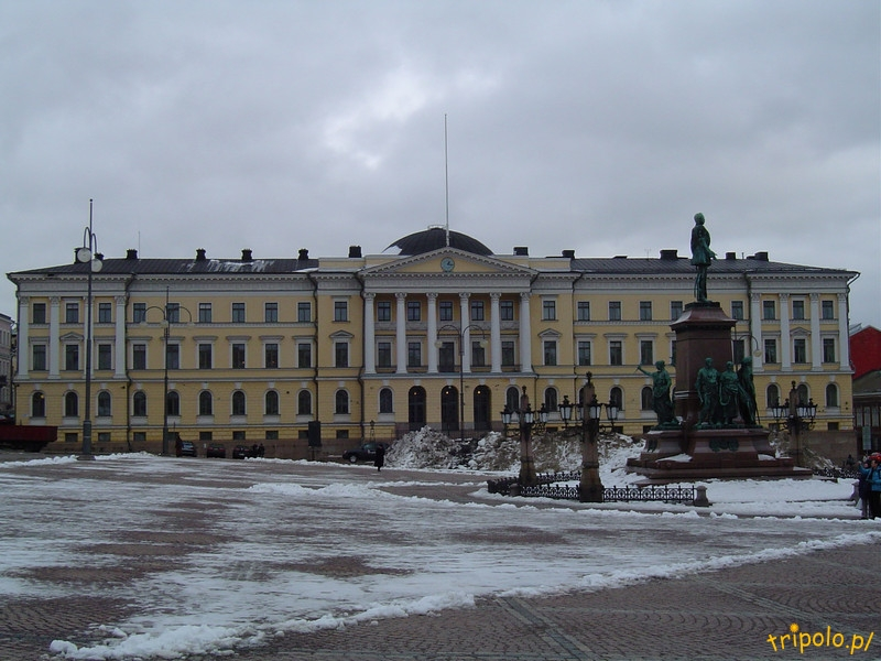 Helsinki - centrum - Plac Senacki