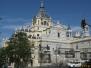 Hiszpania, Madryt cz.3, Katedra La Almundena i okolice