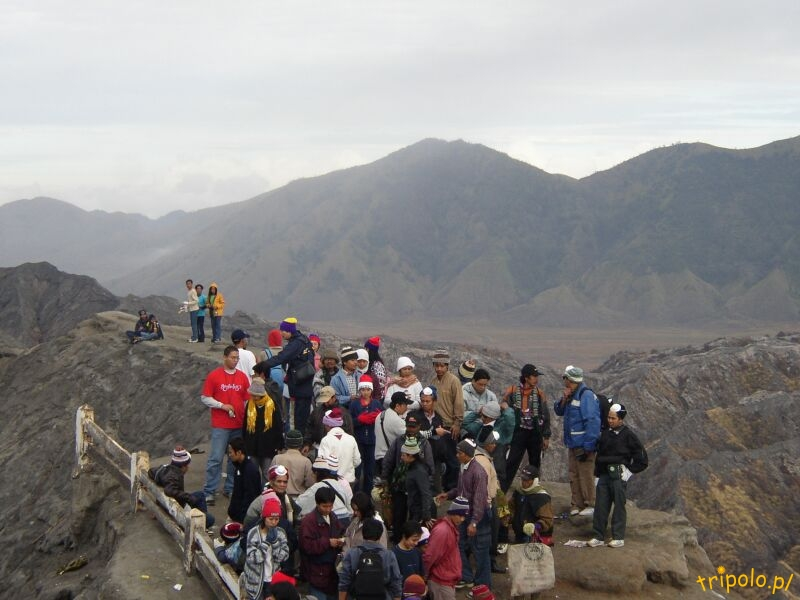Szczyt wulkanu Bromo