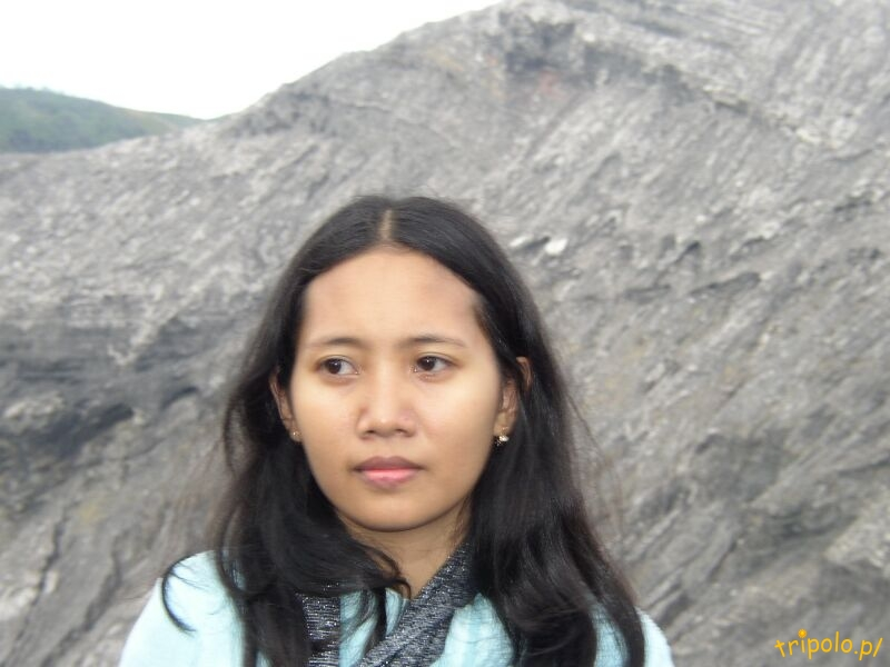 Widok z wulkanu Bromo