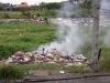 Wypalanie śmieci w Surrabaya