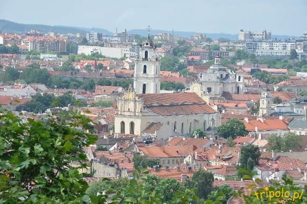 Litwa, Wilno - panorama miasta z Góry Trzech Krzyży