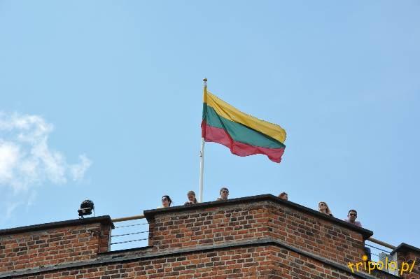 Litwa, Wilno - Góra Zamkowa, Baszta Giedymina