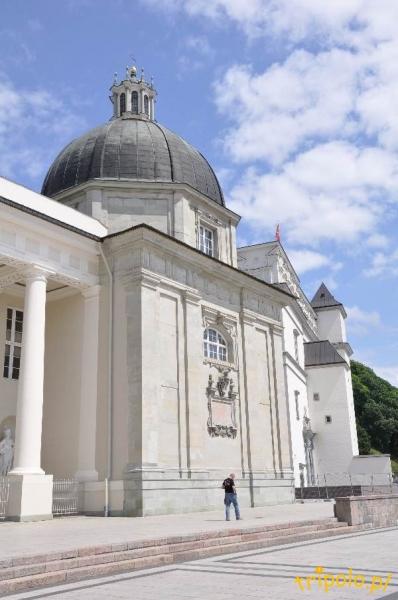 Litwa, Wilno - katedra wileńska i plac katedralny