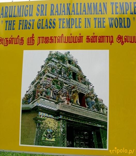 Pierwsza na świecie szklana świątynia
