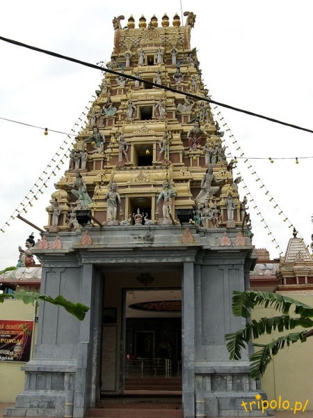 Świątynia hinduistyczna w hinduskiej dzielnicy Johor Bahru