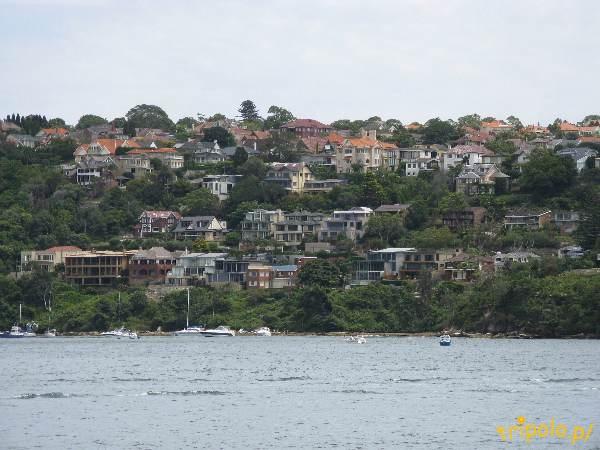 Widok na Sydney od strony zatoki