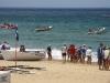 Główna plaża w Manly - zawody sportowe