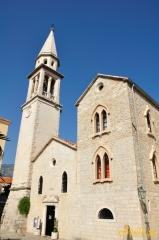 Budva - kościół na Starym Mieście