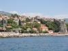 Herceg Novi - widok na miasto i turecką twierdzę z Boki Kotorskiej