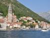 Boka Kotorska - miasto Perast od strony wody