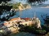 Czarnogóra, Petrovac - widok na zatokę