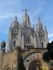 Kościół na wzgórzu Tibidabo, Barcelona